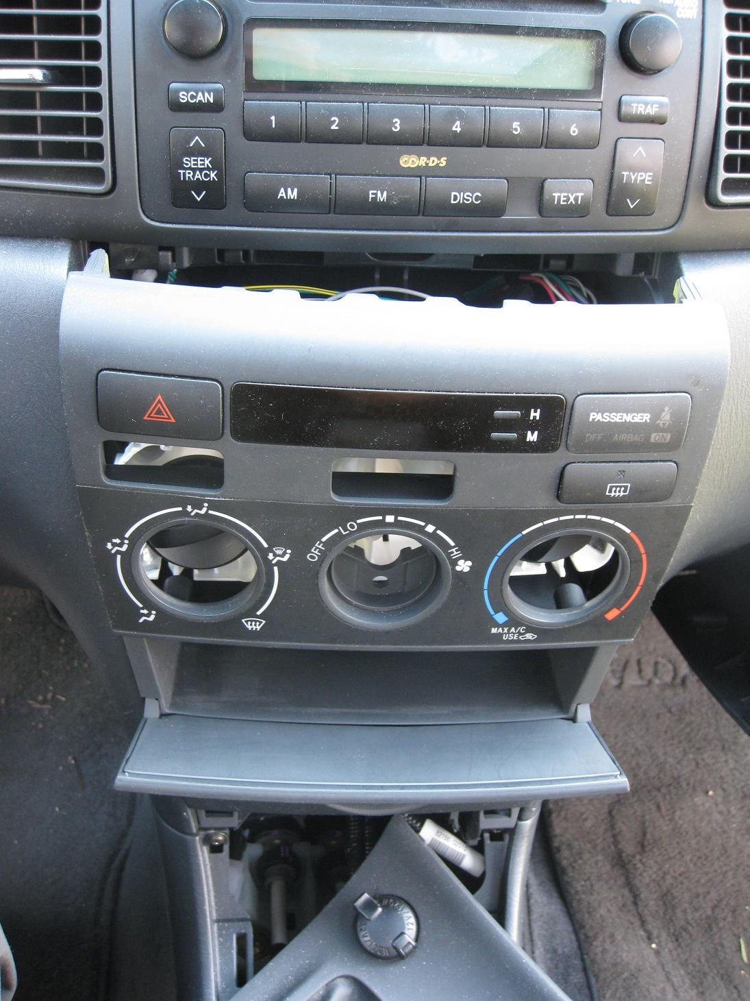 2006 Toyota Corolla Radio Fuse Location